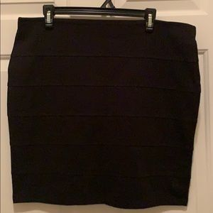 Forever 21+ Black Mini Skirt